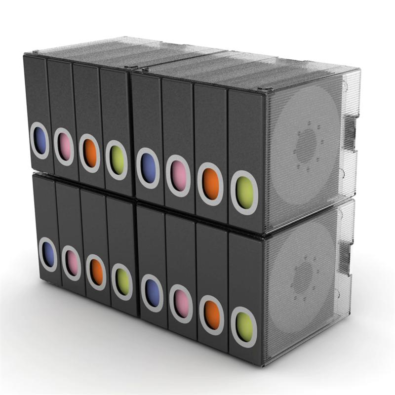 Merveilleux Atlantic Disc Album Cube 96 Disc (Black) 96635496