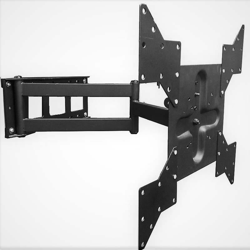 k2 products long extending arm 60 in tv wall mount black k2 a3 b. Black Bedroom Furniture Sets. Home Design Ideas