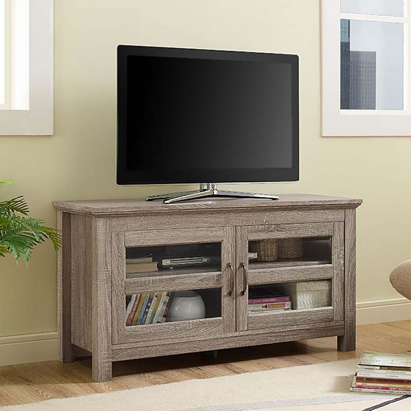 Walker Edison 48 Inch Tv Stand Driftwood W44cfdag