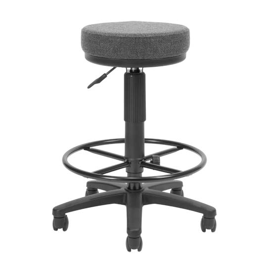 Ofm Utilistool Computer Stool With Drafting Kit Gray 902