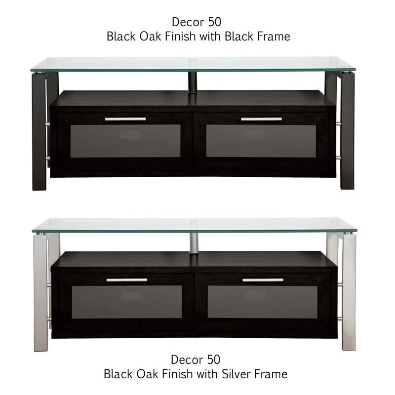 Plateau Decor Series Floating Wood and Glass StandPlateau TV Stand ...