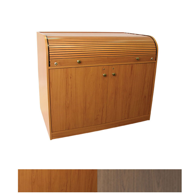 View A Larger Image Of The Chief Raxs Elite Roll Top Desk Cherry Or Walnut