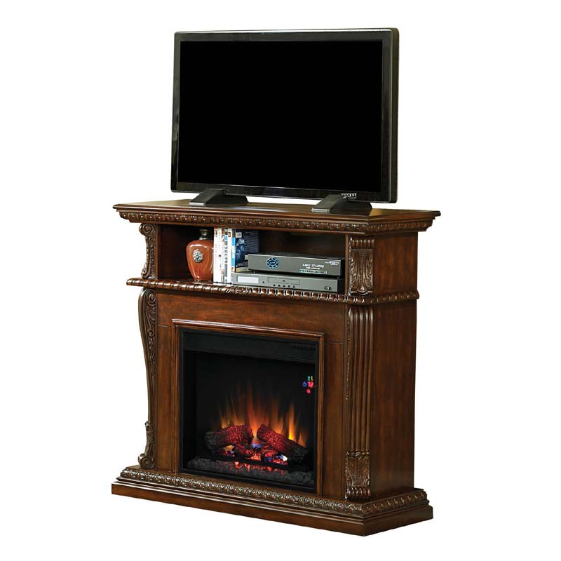 electric fireplace tv stand classic infrared corinth 47 inch tv stand with 28468