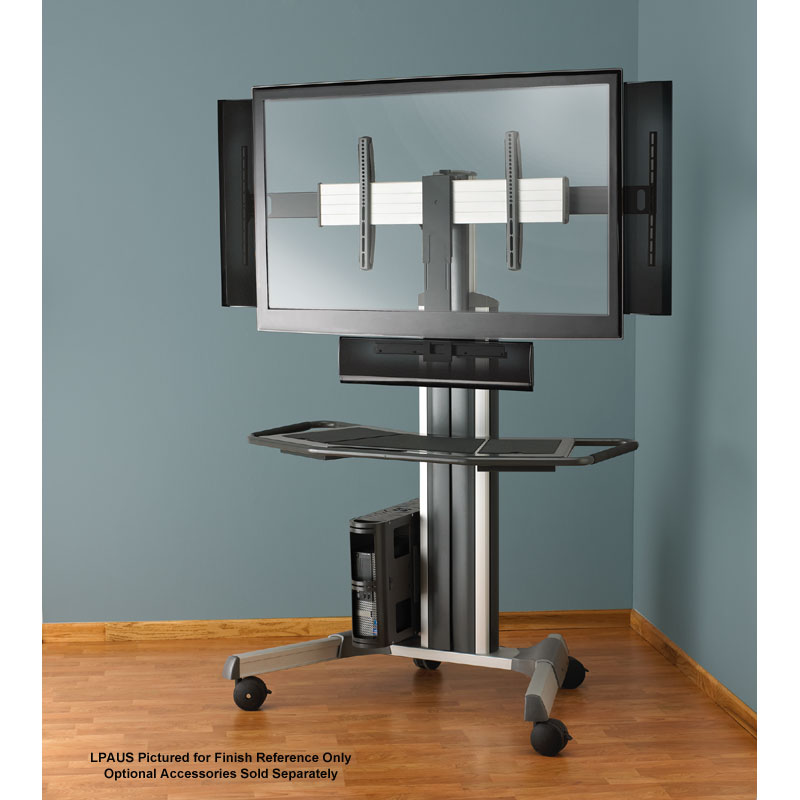 Chief Fusion Large Manual Height Adjustable Floor Stand