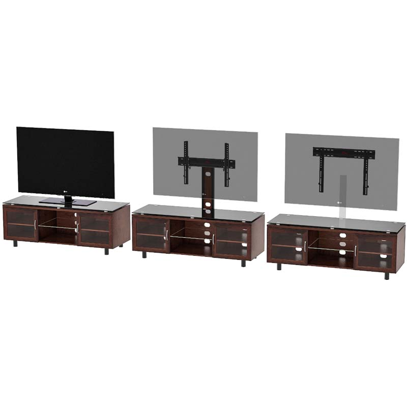 Z Line Designs Merako 3 In 1 Tv Stand With Mount Espresso