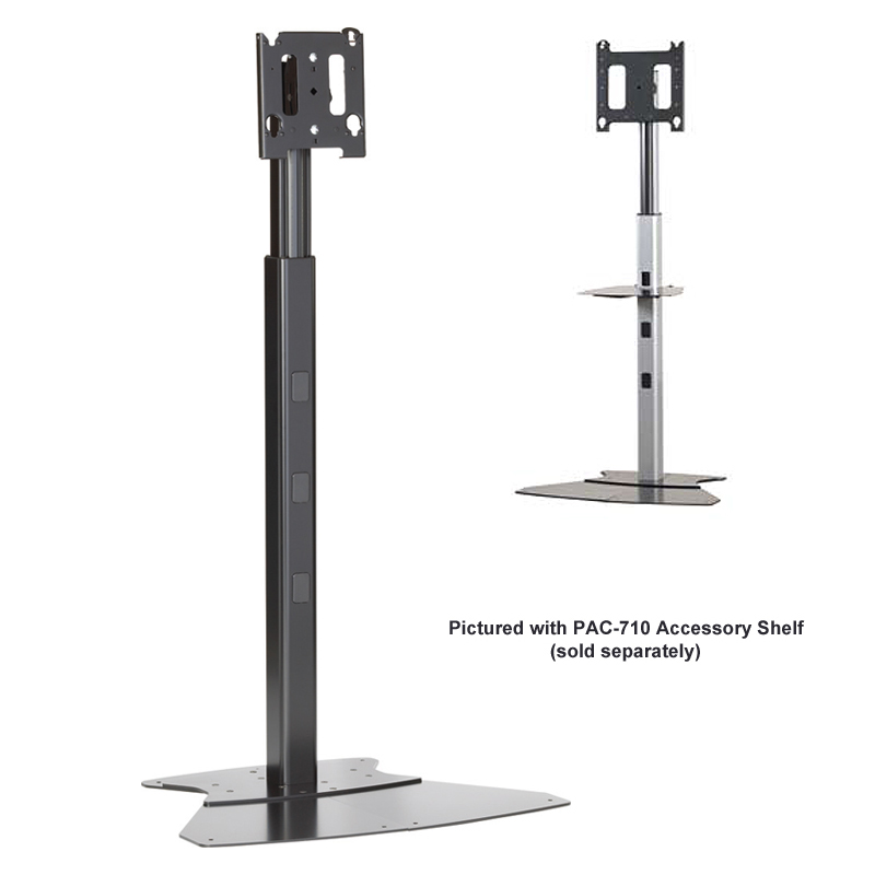 Chief Adjustable Height Monitor Floor Stand For 30 To 55