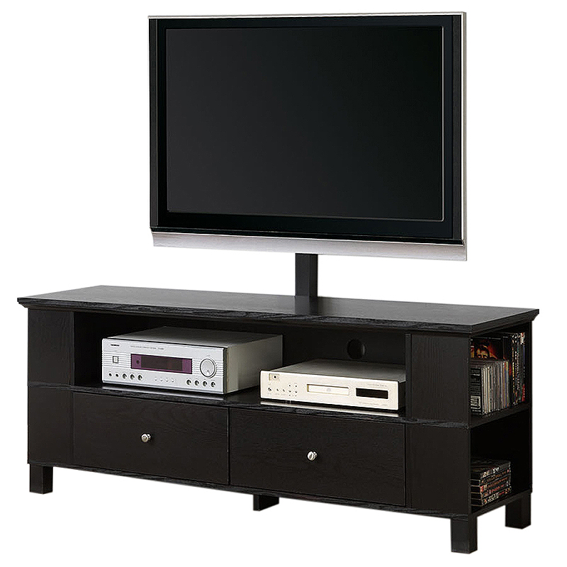 Walker Edison 60 Wood Tv Console For Flat Screen Tvs Up To