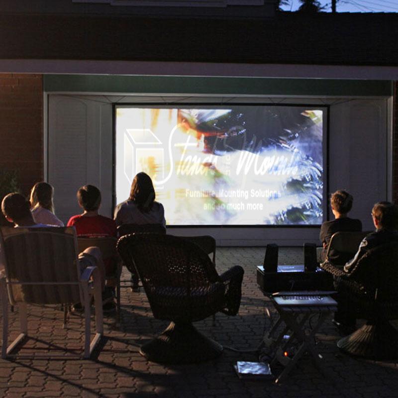Elite Screens DIY PRO Outdoor Projector Screens Various ...