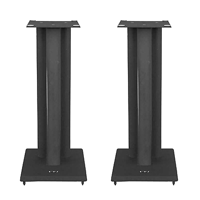H44; Iron Center Channel Speaker Stand VTI Manufacturing RF36 36 in Black