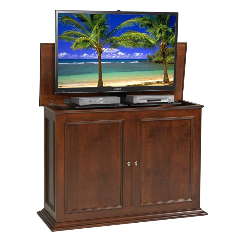 View A Larger Image Of TV Lift Cabinet Sanctuary Series Lift For 36 To 50  Inch