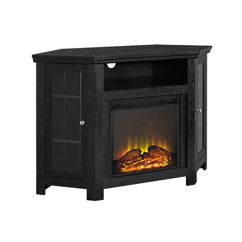 Walker Edison Corner Fireplace TV Stand for 50 inch ...