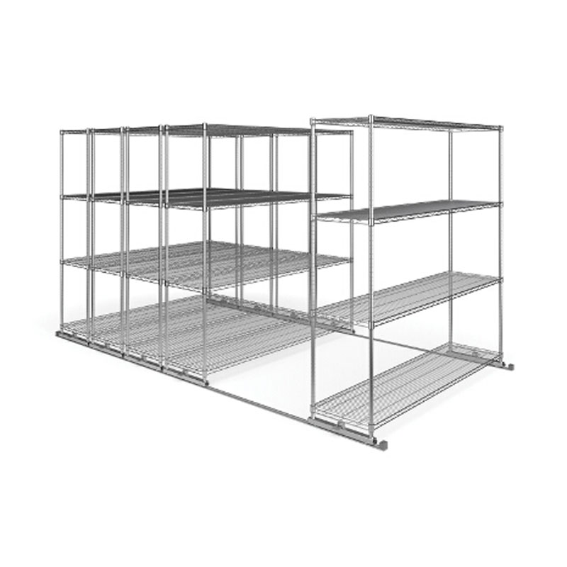 View A Large Image Of The Ofm X5s1872 X5 Sliding Storage System Five 4 Shelf