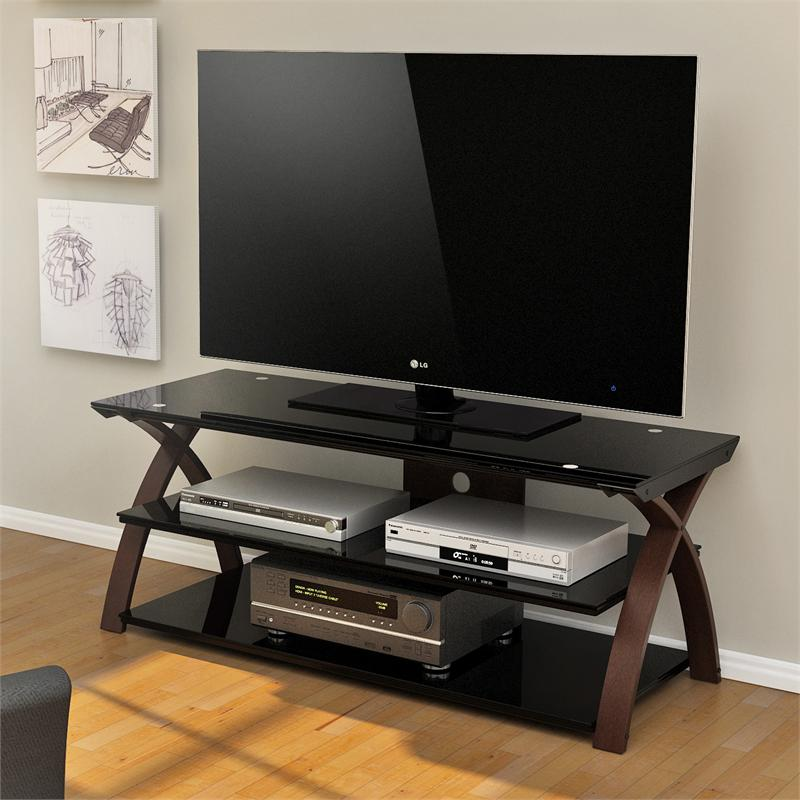 z line willow 55 inch tv stand zl0292 55su. Black Bedroom Furniture Sets. Home Design Ideas