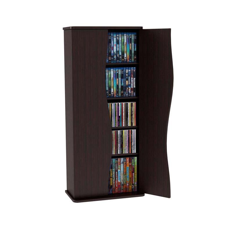 Atlantic Venus Multimedia Cabinet with Latch Doors (Espresso) 83035729  sc 1 st  Stands and Mounts & Atlantic Venus Multimedia Cabinet with Latch Doors Black 83035729