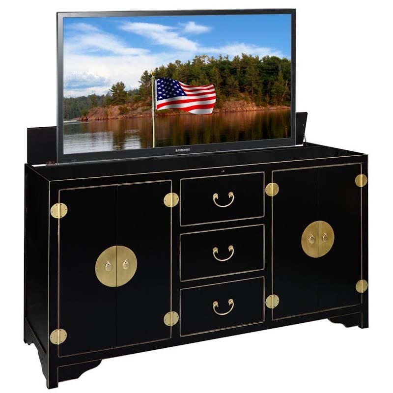 TV Lift Cabinet Dynasty Series Lift for 60 inch Screens ...