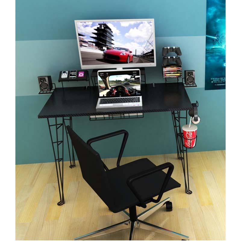 Atlantic Gaming Center Desk Black 33935701