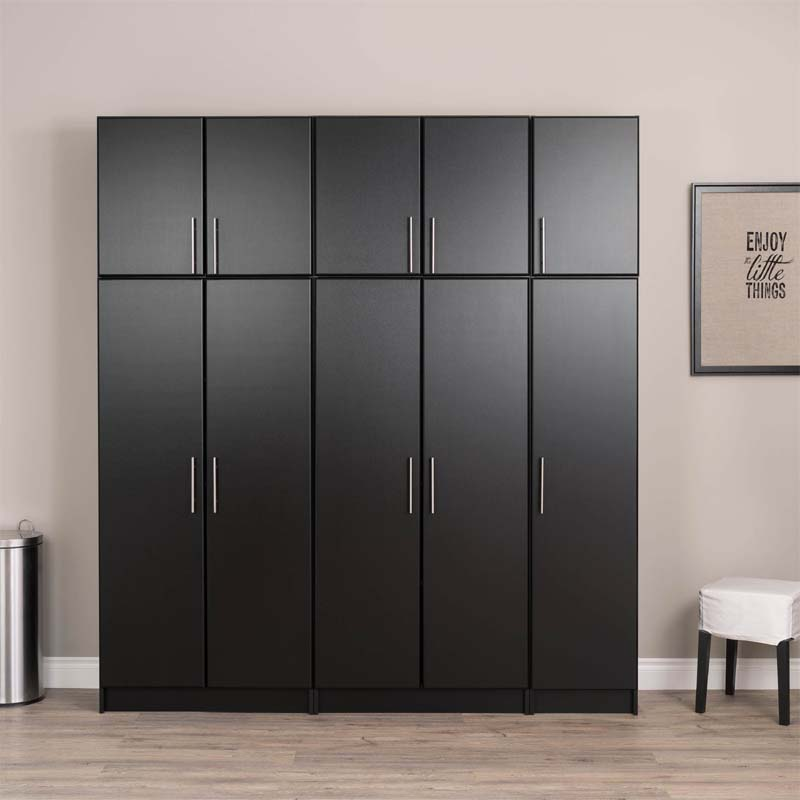 Prepac Elite Collection 16 inch Storage Cabinet (Black ...