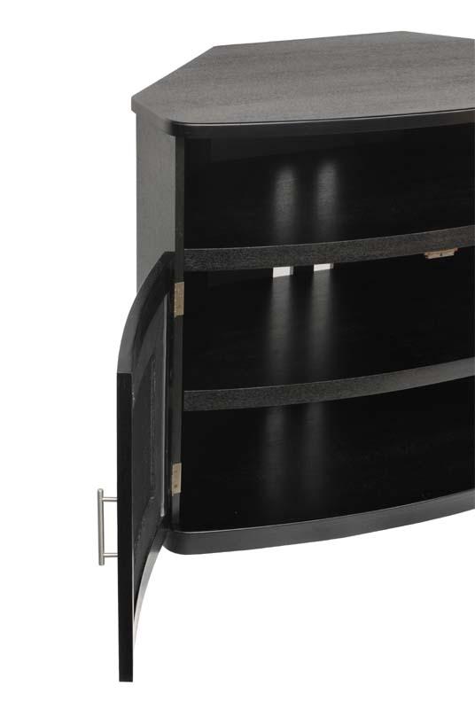 Plateau Newport Corner TV Cabinet For 26 42 In. TVs (Black) Newport 40 (B)
