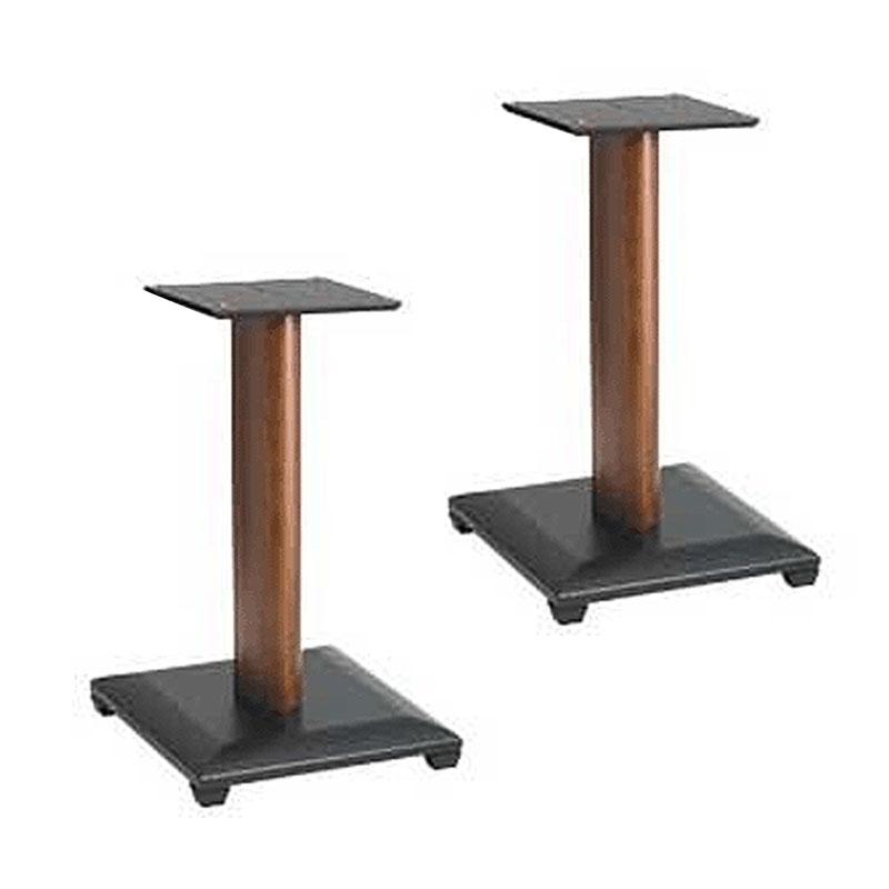 Sanus Natural Series 18 Speaker Stands For Medium To Large Bookshelf Speakers Cherry