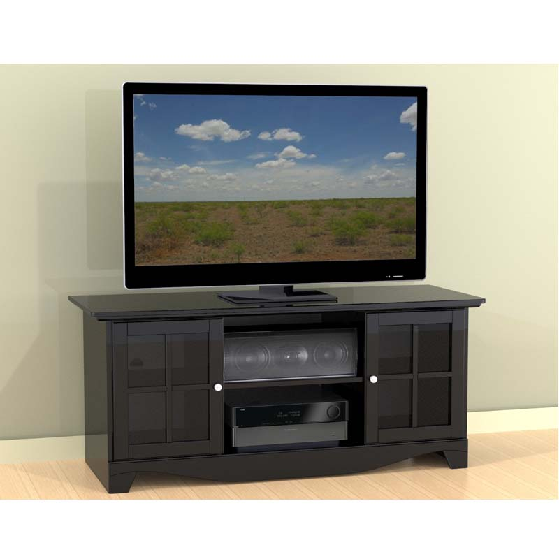 Nexera Pinnacle Collection 56 Tv Stand With Center Channel