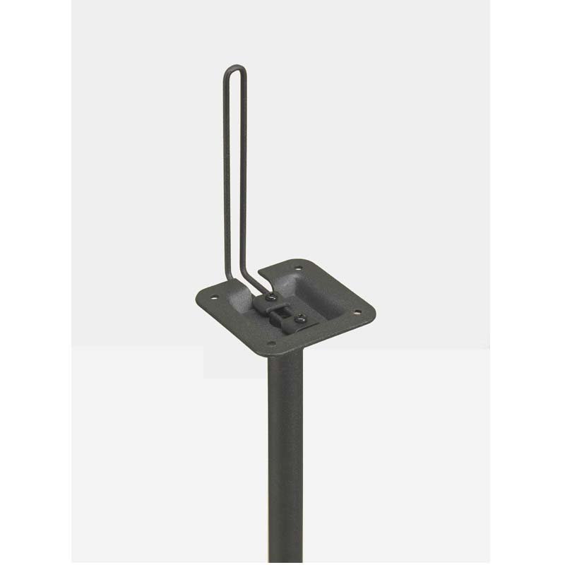 Atlantic Adjustable Satellite Speaker Stands Spscur47