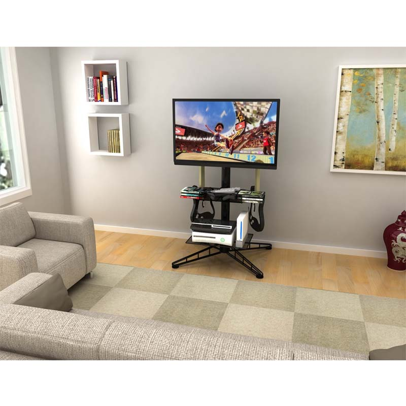 Atlantic Spyder 42 In Tv Stand With Mount And Gaming Storage Center