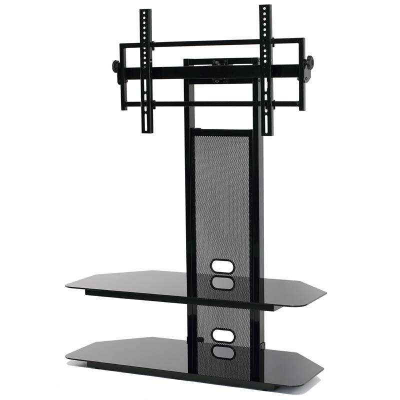 Currently Editing Transdeco Black Glass Tv Stand With Integrated