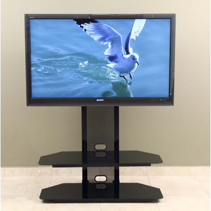 Currently Editing Transdeco Black Glass Tv Stand With