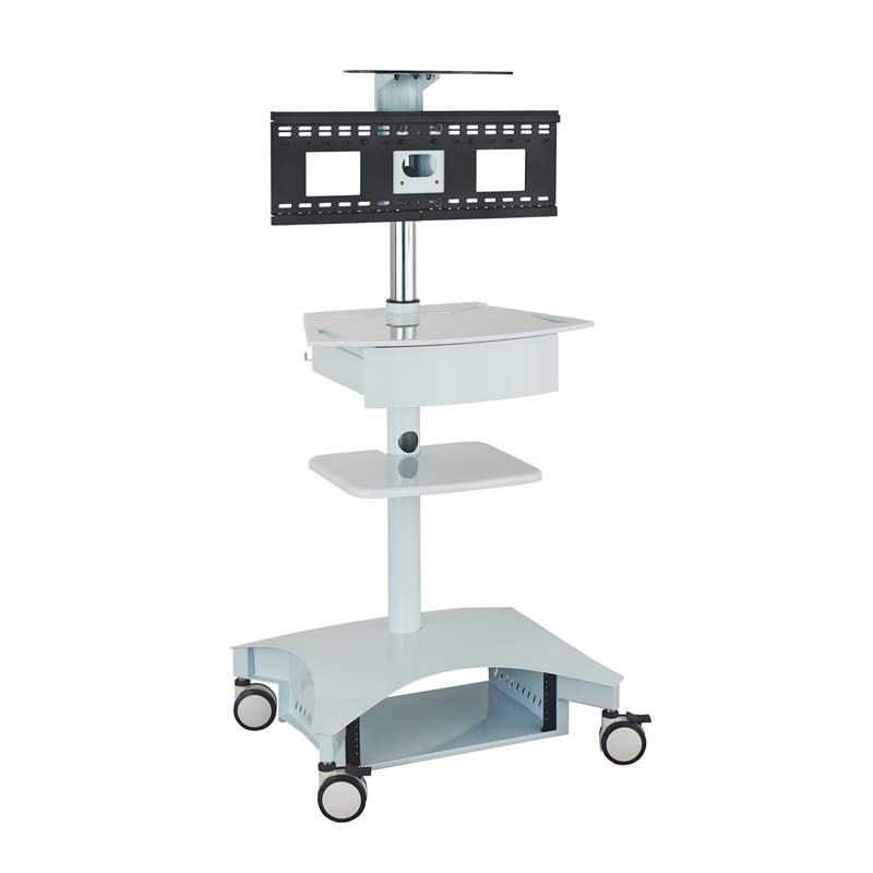 AVTEQ Mobile Telemedicine Cart for Flat Screens up to 32 inches TMP-200