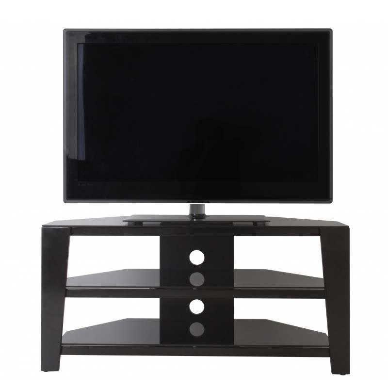Avf Vico 55 Inch Corner Tv Stand Glossy Black Fs1050vib A