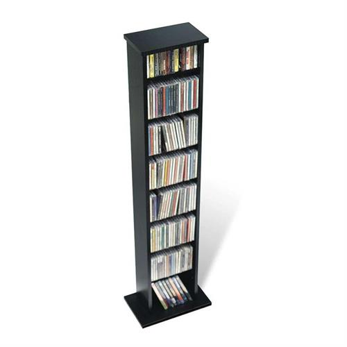 View a large image of the Prepac Slim Multimedia Storage Tower (Black) BMA-0160 here.