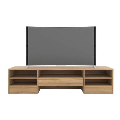 View a larger image of Nexera Rustik TV Stand (72-inch, 1 Drawer, Biscotti) 109013 here.