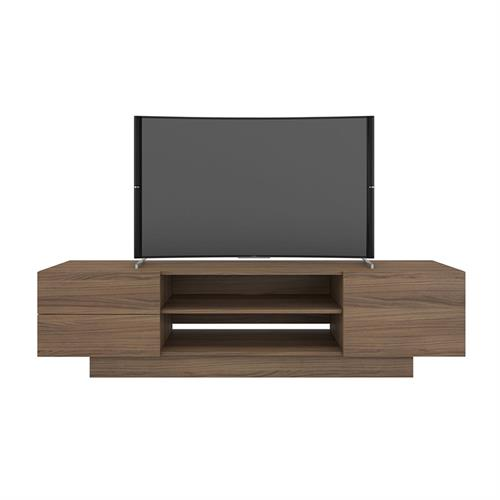 View a larger image of Nexera Morello TV Stand (72-inch, Nutmeg) 115462 here.