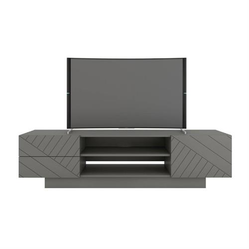 View a larger image of Nexera Marble Series TV Stand (72-inch, Greige) 115467 here.
