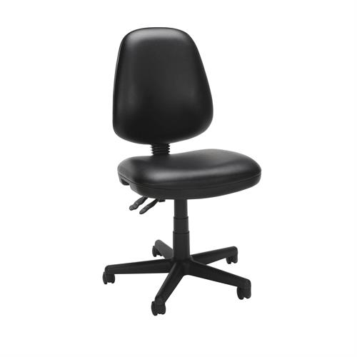 View a larger image of the OFM Vinyl Posture Task Chair (Black or Charcoal) 119-VAM here.