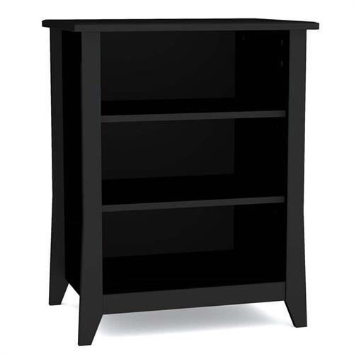 View a large image of the Nexera Tuxedo Collection Audio Video Stand Black 201006 here.