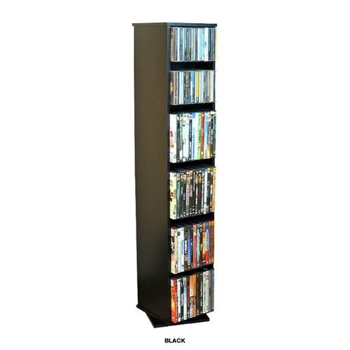 View a large image of the Venture Horizon 280 CD 160 DVD Revolving Media Tower Black 2080-21BL here.