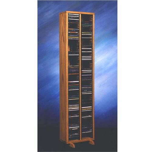 View a large image of the Wood Shed Solid Oak CD Rack TWS-209-4 here.