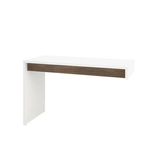 View a larger image of Nexera Liber-T Desk Panel (Reversible, White and Walnut) 211303 here.