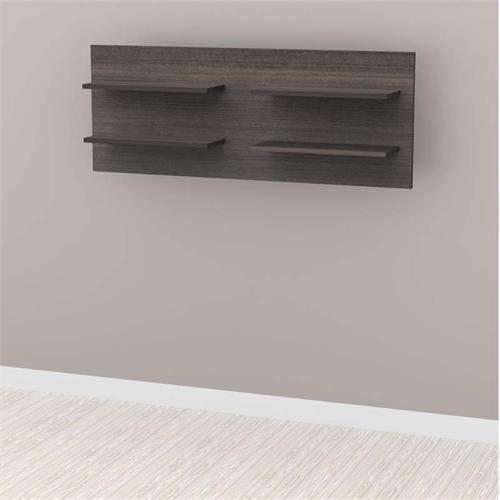 View a larger image of the Nexera Allure Collection Decorative Floating Wall Shelves (Ebony) 220530.