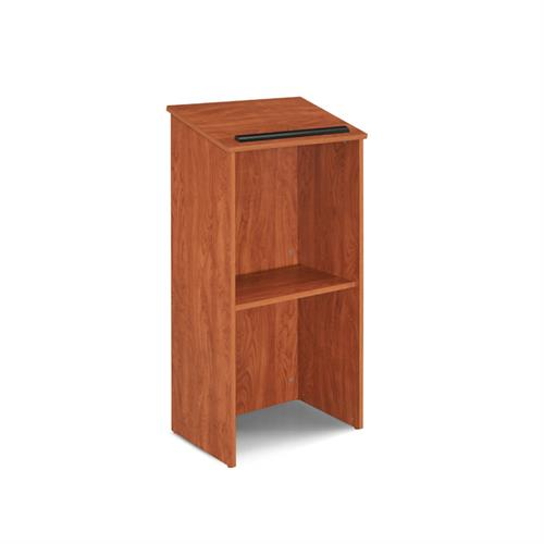View a larger image of the Oklahoma Sound Full Floor Lectern (Cherry) 222-CH.