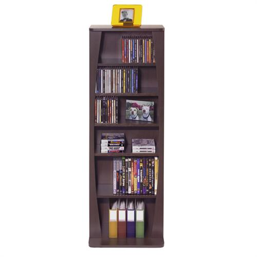 View a large image of the Atlantic Canoe Series 231-CD Espresso Multimedia Storage Cabinet Espresso 22535717 here.