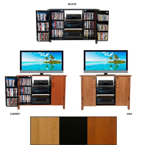 "View a larger image of the Venture Horizon 42"" TV Stand and Locking Media Storage Cabinet (Various Finishes) 2365."