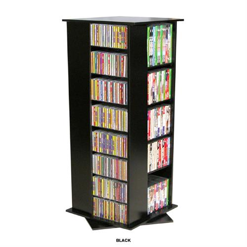 View a large image of the Venture Horizon 928 CD Revolving Media Tower Black 2380-21BL here.