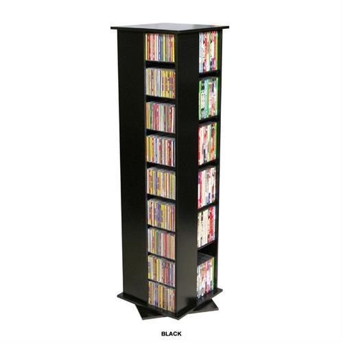 View a larger image of the Venture Horizon 612 CD Revolving Media Tower (Black) 2385-21BL.