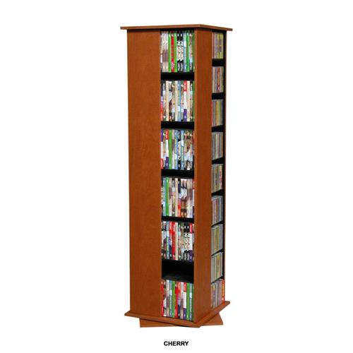 View a large image of the Venture Horizon 612 CD Revolving Media Tower Cherry 2385-42CH here.