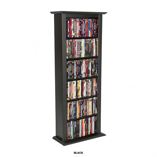 View a larger image of the Venture Horizon Single Media Storage Tower (Black) 2401-21BL.