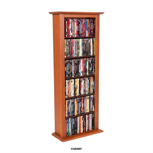 View a large image of the Venture Horizon Single Media Storage Tower Cherry 2401-42CH here.