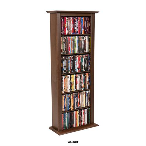 View a large image of the Venture Horizon Single Media Storage Tower Walnut 2401-60DW here.