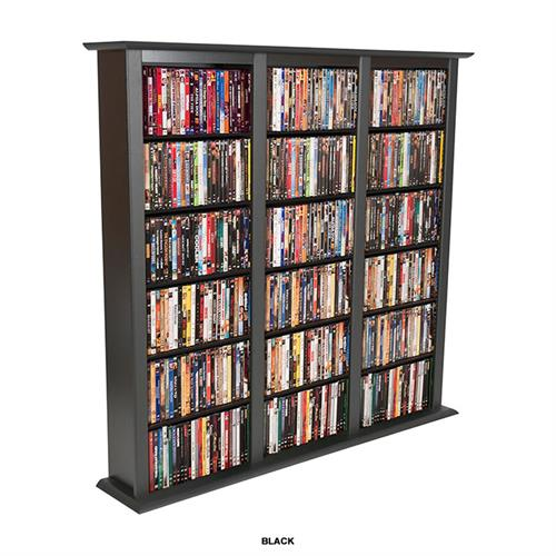 View a large image of the Venture Horizon Triple Media Storage Tower Black 2403-21BL here.